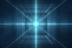 Futuristic 3D abstract background. Futuristic cubical 3D abstract background Stock Photo