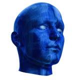 Futuristic Cyborg Head Stock Photos