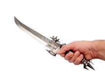 Futuristic dagger Stock Photo