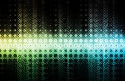 Futuristic Design Background. Futuristic Tech Design on a White Background Royalty Free Stock Photo