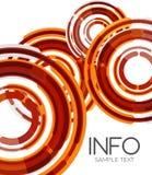 Futuristic design elements hi-tech layout Stock Image