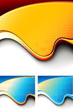 Futuristic Design Template Series. Easy to edit vector EPS file Stock Photo