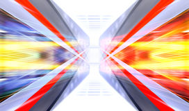 Futuristic design for wallpaper Royalty Free Stock Photography