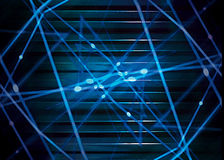 Futuristic Dynamic Abstract Background Royalty Free Stock Photography