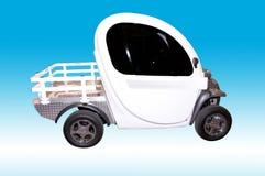 Futuristic Electric Car Royalty Free Stock Photos