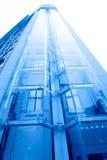 Futuristic elevator Stock Image