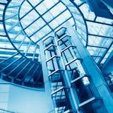 Futuristic elevator Stock Images