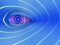 Futuristic Eye Abstract Background Concept Stock Images