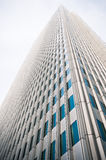 Futuristic företags byggnad Royaltyfri Fotografi