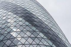 Futuristic facade Arkivbild