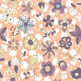 Futuristic fantastic flowers Stock Image