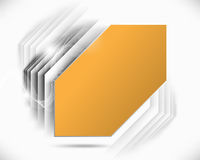 Futuristic frame background Royalty Free Stock Images