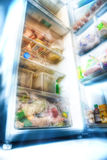 Futuristic fridge Royalty Free Stock Images