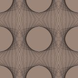 Futuristic geometric art deco modern pattern Royalty Free Stock Photos
