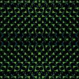 Futuristic Geometric Seamless Pattern Stock Photography