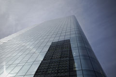 Futuristic Glass Building Royalty Free Stock Photography