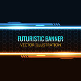 Futuristic glowing background vector illustration. Illustartion of futuristic glowing background vector illustration Royalty Free Stock Photo