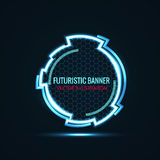Futuristic glowing background vector illustration. Illustartion of futuristic glowing background vector illustration Royalty Free Stock Images