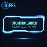 Futuristic glowing background vector illustration. Illustartion of futuristic glowing background vector illustration Stock Images