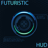 Futuristic glowing background vector illustration. Illustartion of futuristic glowing background vector illustration Royalty Free Stock Photography