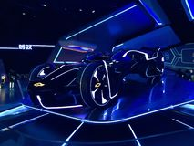 Futuristic GM Car royalty free stock images