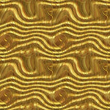 Futuristic Golden Seamless Pattern Stock Photos