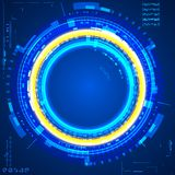 Futuristic graphic user interface Royalty Free Stock Photo
