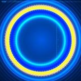 Futuristic graphic user interface Stock Photo