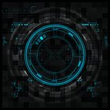 Futuristic graphic user interface Stock Photo