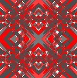 Futuristic grunge tile with rhomboid patterns Royalty Free Stock Photography