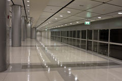 Futuristic guangzhou Airport interior Royalty Free Stock Image