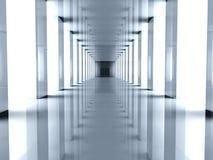 futuristic hall