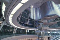 Futuristic hall interior Royalty Free Stock Photo