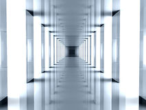Futuristic Hallway Stock Photos
