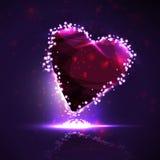 Futuristic heart Stock Photos