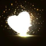 Futuristic heart Royalty Free Stock Photography