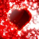 Futuristic heart  illustration Stock Images