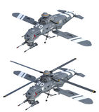Futuristic helicopters Royalty Free Stock Photos