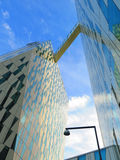Futuristic hotel building Royalty Free Stock Images
