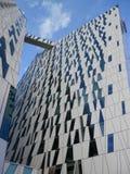 Futuristic hotel building Stock Images