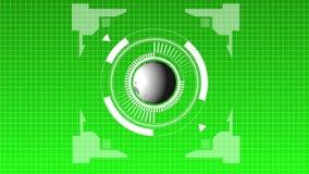 Futuristic hub stock video