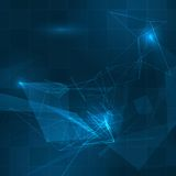 Futuristic HUD background Stock Image
