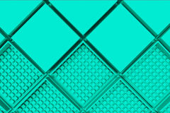 Futuristic industrial background made from blue square shapes Royalty Free Stock Photos