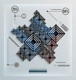 Futuristic infographics elements Stock Photography