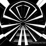 Futuristic instrument panel. Giving a radar like appearance Stock Photography