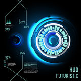 Futuristic interface, HUD,  imfographics , Stock Images