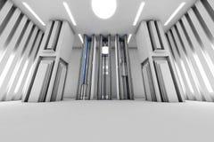 futuristic interior Royaltyfri Bild