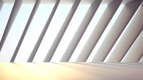 Futuristic interior. Space abstract background Stock Photos