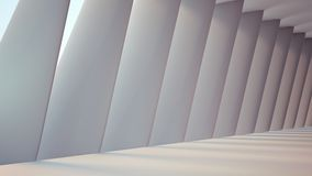 Futuristic interior. Space abstract background Royalty Free Stock Photography