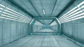 Futuristic interior Royalty Free Stock Photo